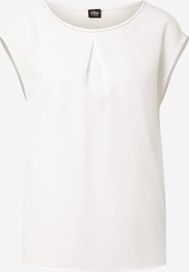 s.Oliver BLACK LABEL Blusenshirt in weiß, Produktansicht