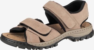 RIEKER Sandalen in hellbeige, Produktansicht