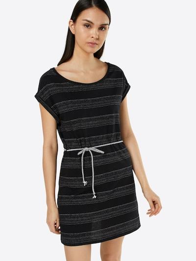 Iriedaily Kleid 'Neila 182' in dunkelgrau / schwarz, Modelansicht
