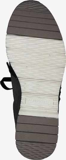 TAMARIS Sneaker in braun / taupe: Ansicht von unten