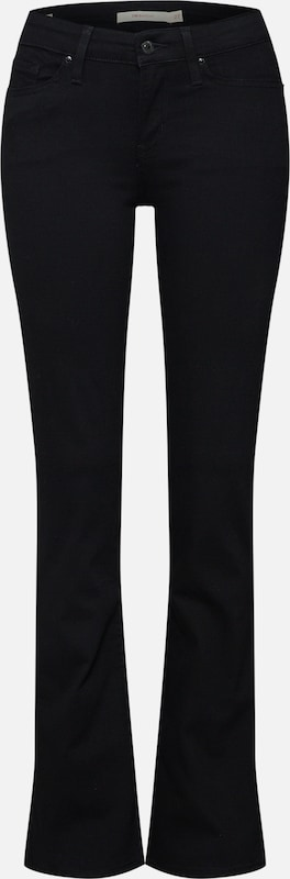 Noir Bootcut' Levi's En Jean '715™ erBdCxo