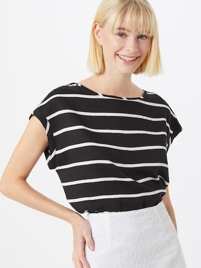 STREET ONE Blusenshirt in schwarz, Modelansicht