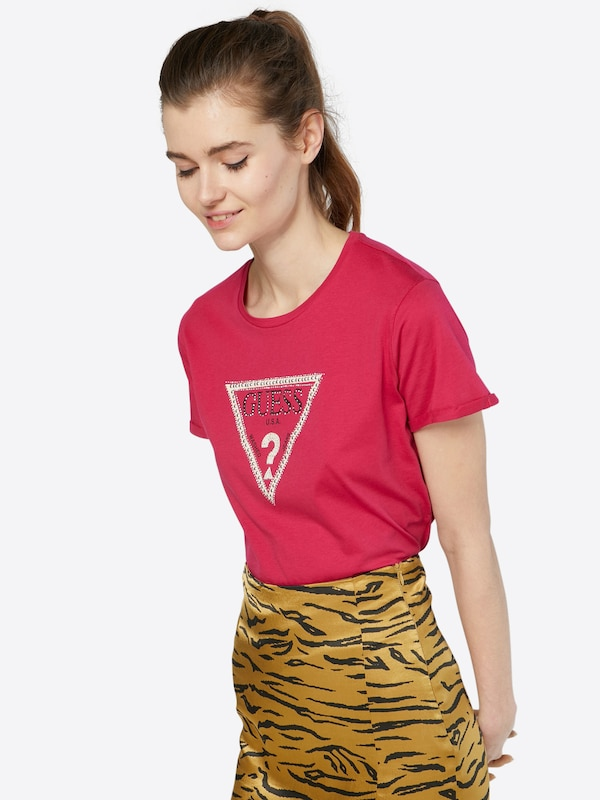GUESS T-Shirt 'TRIANGLE STUDS'
