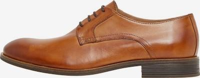 Bianco Buty sznurowane w kolorze koniakowym, Podgląd produktu
