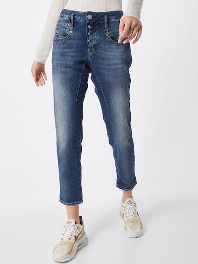 Herrlicher Jeans 'Shyra Cropped' in blue denim, Modelansicht