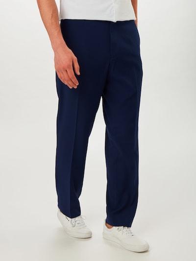 BURTON MENSWEAR LONDON Bügelfaltenhose in blau, Modelansicht
