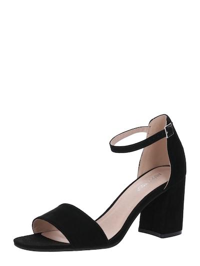 Černé páskové sandály 'Alisha' značky ABOUT YOU