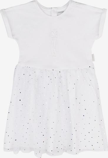 Stummer Kleid in silber / offwhite, Produktansicht