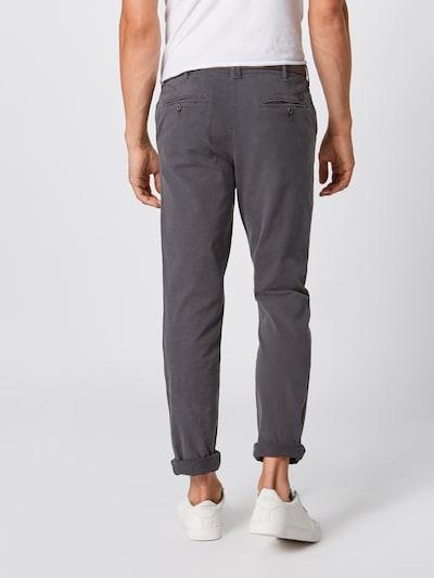 Pantaloni eleganți 'IROY JAMES SA ASPHALT' JACK & JONES pe gri metalic: Privire spate