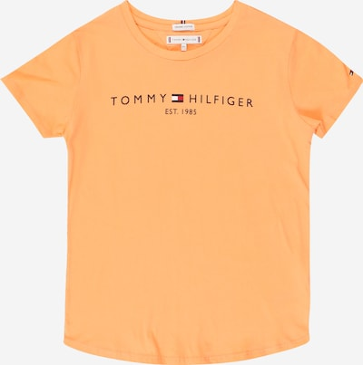 TOMMY HILFIGER Shirt in navy / orange / rot, Produktansicht