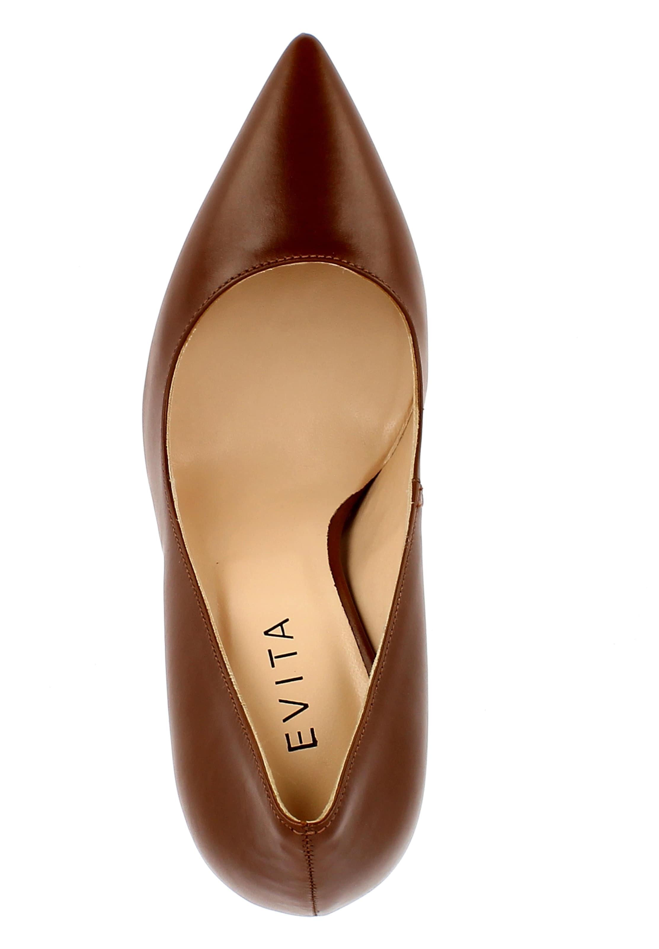 Evita Marron Escarpins En En Marron Escarpins Evita Evita dxeCrBo