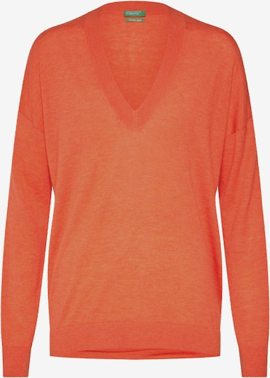 UNITED COLORS OF BENETTON Pullover in orange, Produktansicht