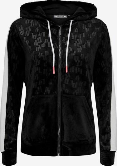 ONLY PLAY Sweatshirt in schwarz / weiß, Produktansicht