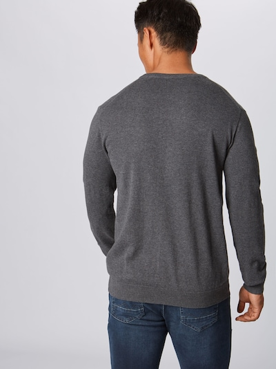 Megztinis 'OCS Co V-nk' iš ESPRIT , spalva - tamsiai pilka: Vaizdas iš galinės pusės