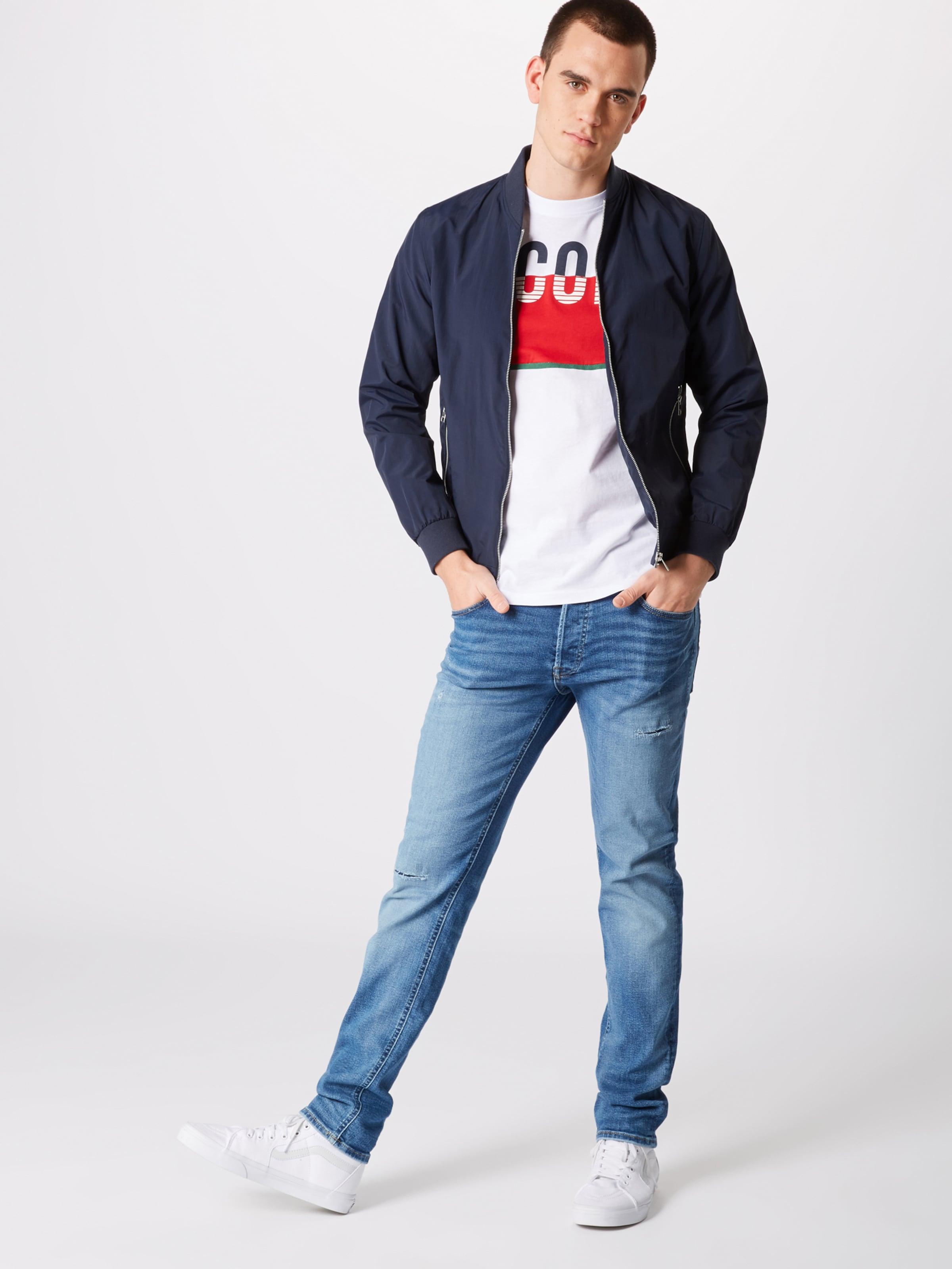 In Weiß T KobaltblauDunkelgrün Jackamp; Jones Rot shirt On80wkP