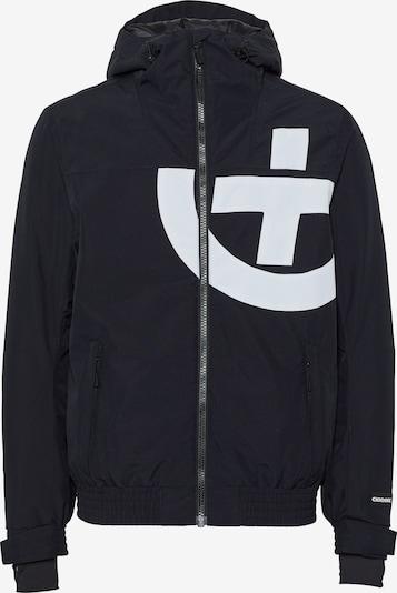 CHIEMSEE Sportjas in de kleur Zwart / Wit, Productweergave