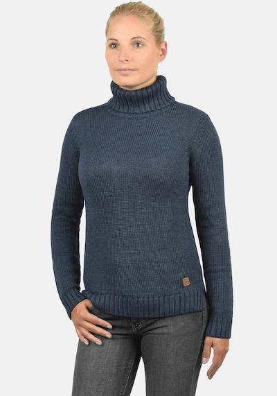 Desires Rollkragenpullover 'Pia' in dunkelblau: Frontalansicht