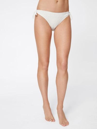 LeGer by Lena Gercke Bas de bikini 'Luzi' en blanc cassé: Vue de face