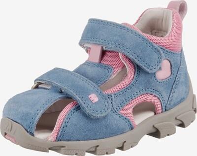 ELEFANTEN Lauflernsandalen 'FRAPY Weite M' in blau / rosa, Produktansicht