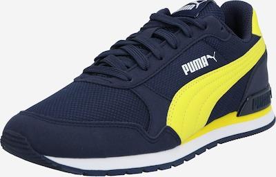 PUMA Tenisky 'ST Runner v2 Mesh JR' - námornícka modrá / žltá / biela, Produkt