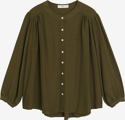 MANGO Bluse vera in khaki, Produktansicht