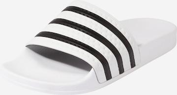 ADIDAS ORIGINALS Mules 'Adilette' in White