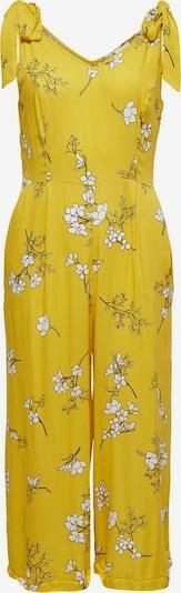 JDY Jumpsuit 'Kenya' in de kleur Geel / Wit, Productweergave
