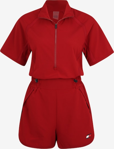 Tommy Sport Playsuit in rot, Produktansicht