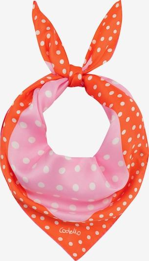 CODELLO Mini-Carré in orange / pink / weiß, Produktansicht