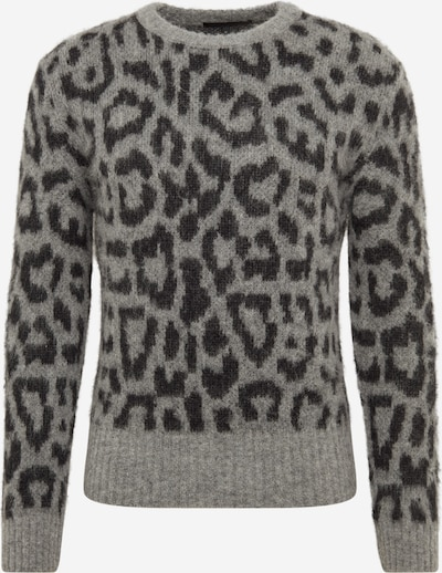 DRYKORN Pullover 'VINCENT' in grau / schwarz, Produktansicht