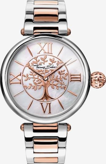 Thomas Sabo Uhr 'Karma' in bronze / silber, Produktansicht