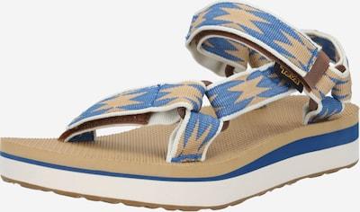TEVA Sandales en beige clair / bleu fumé, Vue avec produit