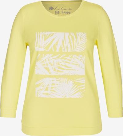 Lecomte Shirt in gelb / weiß, Produktansicht