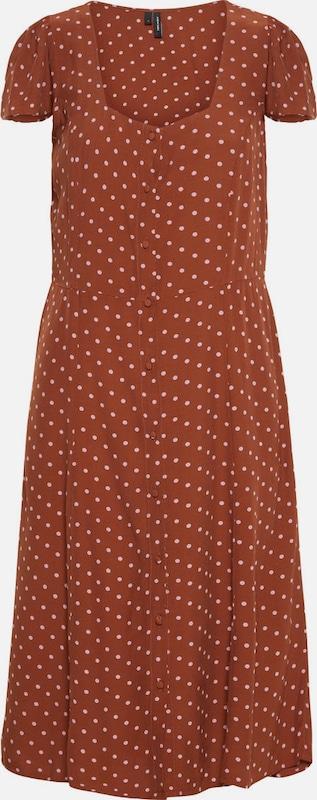 VERO MODA Kleid in karamell   Rosa  Neuer Aktionsrabatt