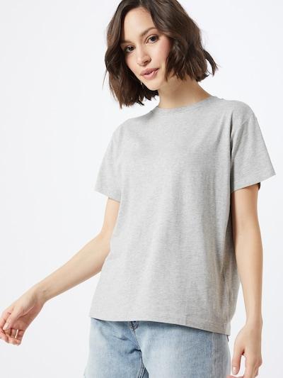 Marc O'Polo Shirt in hellgrau / graumeliert: Frontalansicht