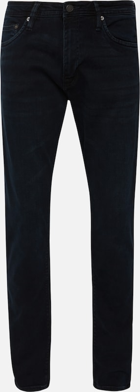 JACK & JONES Jeans 'JJIGLENN JJFELIX AM 458 PCW SPS NOOS' in black denim, Produktansicht