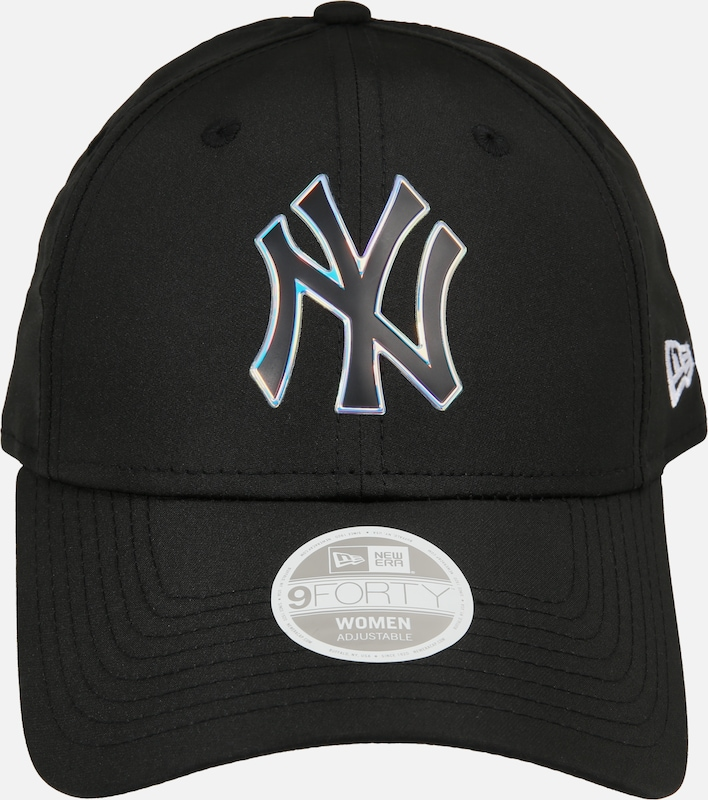 NEW ERA Čiapka 'WMNS MLB NYLON 9FORTY NEYYAN BLK New York Yankees' - čierna, Produkt