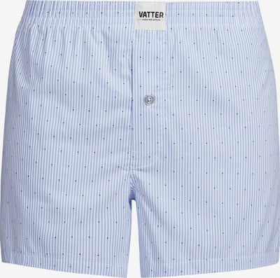 VATTER Boxer shorts 'Loose Larry' in Light blue / White, Item view