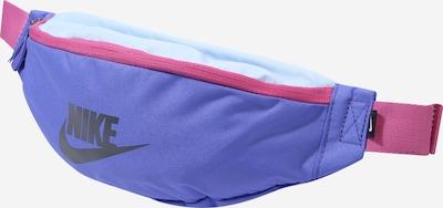 Nike Sportswear Bæltetaske 'Heritage' i blå / pink, Produktvisning
