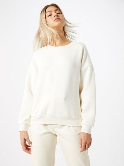 MOSS COPENHAGEN Sweatshirt 'Ima' in de kleur Wit, Modelweergave