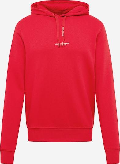 ARMANI EXCHANGE Majica | rdeča / bela barva, Prikaz izdelka