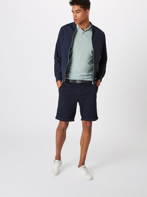 Chino Bleu Belt' Marine En 'chino Basic Review Pantalon AL35q4Rj
