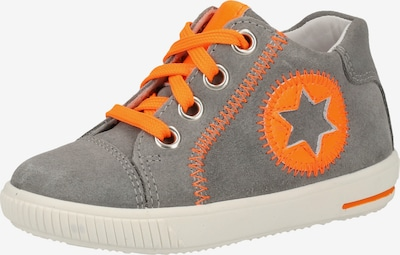 SUPERFIT Halbschuhe in grau / orange, Produktansicht