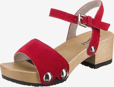 SOFTCLOX Sandale 'Penny' in rubinrot, Produktansicht