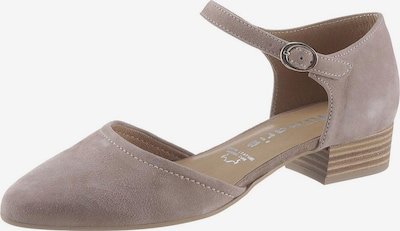 TAMARIS Pumps 'Svea' in de kleur Taupe, Productweergave