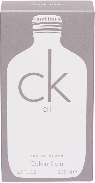 Calvin Klein 'ck all' Eau de Toilette in weiß, Produktansicht