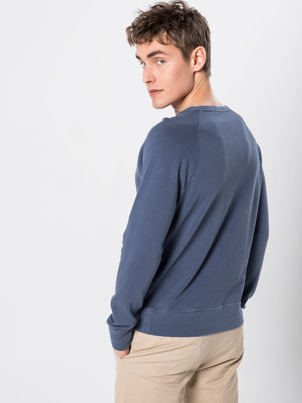 POLO RALPH LAUREN Sweat-shirt 'LSCNM1-LONG SLEEVE-KNIT K191SC12' en bleu marine: Vue de dos