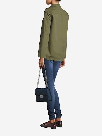 Seidenfelt Manufaktur Tasche 'ROROS' in dunkelblau, Modelansicht