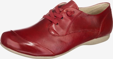 JOSEF SEIBEL Lace-Up Shoes 'Fiona 01' in Red