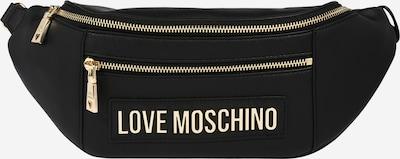Rankinė ant juosmens 'Borsa Smooth' iš Love Moschino , spalva - Auksas / juoda, Prekių apžvalga